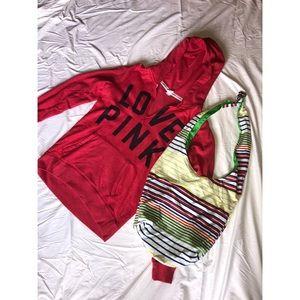 PINK Victoria's Secret hoodie ❤️💋😍